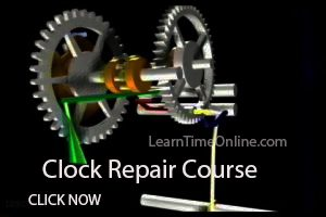 Clock Repair Course