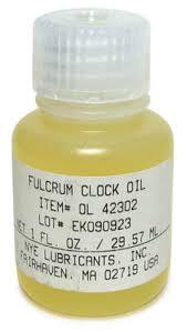 fulcrum clock oil